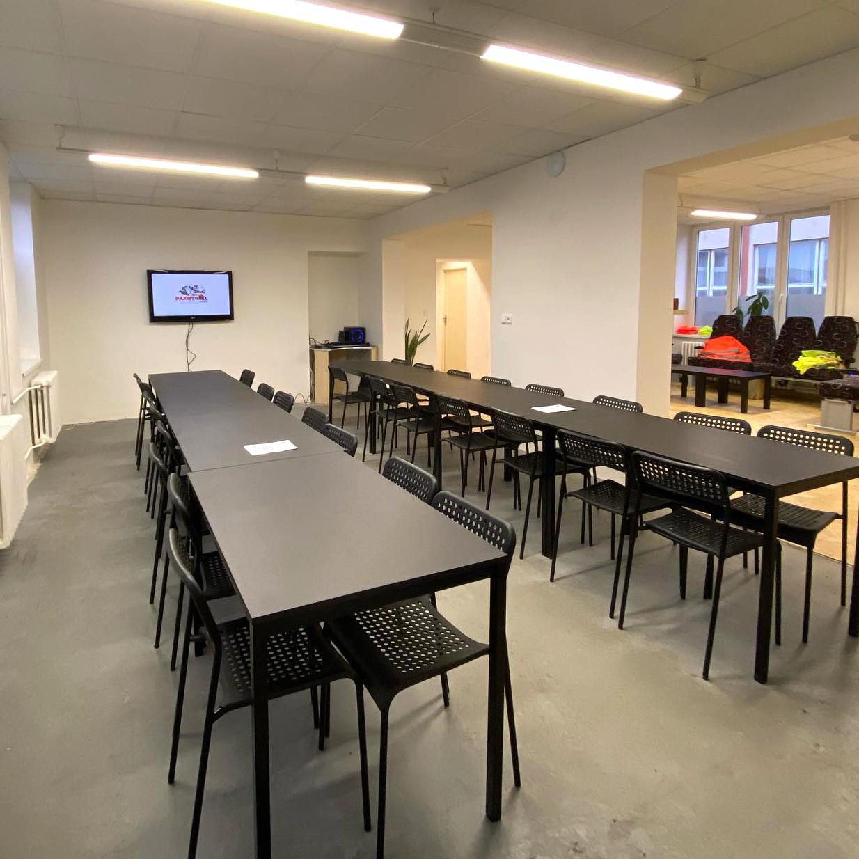 Paintball Choceň - konferenční místnost